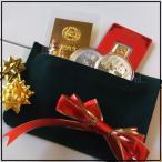 【金 福袋】純金 インゴット 銀貨の5点入り 福袋 送料無料