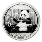 純銀 コイン 銀貨 パンダ銀貨 30g 2017年製 中華人民銀行