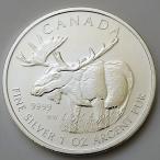 【純銀コイン】ヘラジカ銀貨 1オンス 2012年製 カナダ王室造幣局発行
