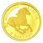 純金 コイン ツバルホース金貨 1/25オンス 2018年製 ツバル政府発行