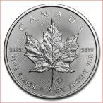 純銀 コイン『メイプル銀貨 1オンス 2019年製 クリアケース入り』 カナダ王室造幣局発行 31.1gの純銀 品位:99.99% シルバー《安心の本物保証》保証書付き