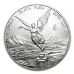 リベルタード 銀貨 1オンス 2016年製 クリアケース入り メキシコ銀行発行 31.1gの純銀 純銀コイン 銀貨 1oz Silver Coin PLATA PURA  保証書付き