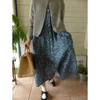 evam eva(エヴァムエヴァ) linen lily yarn cardigan(E171K053)