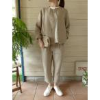 evam eva(エヴァムエヴァ) linen cardigan jacket(E171T102)