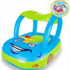 浮き輪 子供 車型 屋根付き 日差よけ ベビーフロート 足入れ 赤ちゃん 乗り物 ベビー用 子供用浮き輪 /ベビー用浮き輪/子供用浮き輪/ベビー浮き輪/フロート