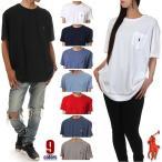 ラルフローレン ポケット Tシャツ メンズ レディース ビッグTシャツ POLO RALPH LAUREN 半袖 Tシャツ ロゴ 無地 大きいサイズ ポロ ラルフ 白 黒 赤 紺 グレー