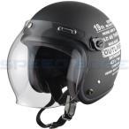 【レディース・キッズ】ジェットヘルメット ライフロール レディース マットブラック