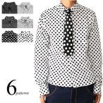 ドットシャツ メンズ ドットシャツ シャツ ドット シャツ 水玉 シャツ A080