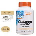【5%OFFクーポン配布中★】ベスト コラーゲン タイプ1&3 180粒 supplement