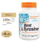 【5%OFFクーポン配布中★】チロシン サプリメント ベスト L-チロシン 500mg 120粒  supplement