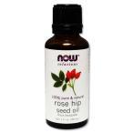 100%ピュア ローズヒップシードオイル 30ml now NOW Foods(ナウフーズ)