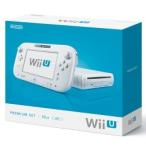 【新品】【即納】任天堂 Wii Uプレミアムセット(shiro)