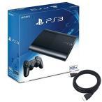 【新品】【即納j】PlayStation3 チャコール・ブラック 500GB (CECH4300C) 特典アンサー PS3用 HDMIケーブル2.0M付