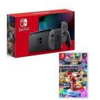 【新品】【即納】「Nintendo Switch 本体 グレー」&「マリオカート8 デラックス」 セット