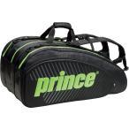 Prince プリンス  男女兼用 テニス用ラケットバッグ  ラケットバッグ15本入 TT700 BLK/GRN
