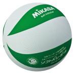 ミカサ MIKASA ソフトバレー 白/緑 MSM78WG
