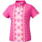 ニッタク Nittaku 【レディース 卓球ユニフォーム】 ダイヤシャツ NW2169 ピンク