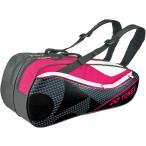 ショッピングbag Yonex ヨネックス ラケットバッグ6 リュック付き(ラケット6本用) BAG1722R ブラック/ピンク