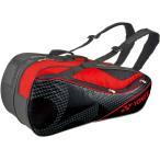 ショッピングbag Yonex ヨネックス ラケットバッグ6 リュック付き(ラケット6本用) BAG1722R ブラック/レッド