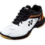Yonex(ヨネックス) バドミントンシューズ パワークッション65Z2 男女兼用 SHB65Z2 ホワイト/オレンジ