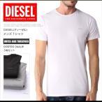ディーゼル DIESEL Tシャツ 半袖 メンズ クルーネック ロゴ ワンポイント UMTEE-JAKE THRE