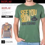 リプレイ REPLAY Tシャツ 半袖 メンズ  M6226 RP11016SL メール便送料無料