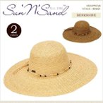 Sun 'N' Sand サンアンドサンド ストローハット 麦わら 帽子 パッカブル HAT BERKSHIRE SUN5012 正規品 本物保証