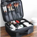 メイクボックス プロ仕様 化粧ポーチ 仕切り コスメボックス コスメポーチ 持ち運び 収納ケース 化粧ボックス 化粧品収納 機能性 メイク道具