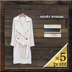 【mysty woman】TWILL RAGLAN LOOSE TRENCH COAT (57222789) Lady's 3color
