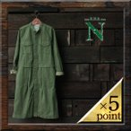 【20%OFF】【RNA-N】 MILITARY ONE-PIECE COAT (c0568) Lady's