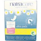ナトラケア オーガニックコットン ナプキン ウルトラパッド スーパープラス 12枚入り  Natracare