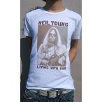 Tシャツ メンズ 半袖 カナダ キングオブSSR ニールヤング デザイン ロックTee
