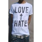 ショッピングTHIS Tシャツ メンズ 半袖 クロスモチーフを+ 意味深なタイポグラフィックデザインTee