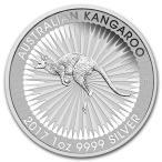 2017年 未流通品 カンガルー銀貨 1OZ シルバーコイン