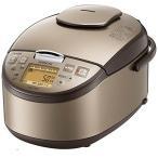 日立 圧力IHジャー炊飯器 黒厚鉄釜 1升炊き ライトブラウン RZ-YG18M-T