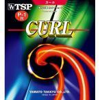 ティーエスピー(TSP) 卓球ラバー 表ソフト 粒高 カールP-1R ソフト 20505