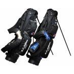 レザックス メンズ ゴルフ U.S.Athlete 6.5型 キャディバッグ USCB-7213 ブラック/ブルー