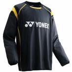 YONEX ヨネックス サッカー・フットサル UNI ピステトップシャツ ユニセックス FW5004 ブラック/イエロー