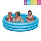 INTEX クリスタルブループール ME-7011(58426NP) インテックス CRYSTAL BLUE POOL 147×33cm