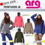 14-15 2015 ARG WOMEN'S ARGPRINTHOOD JACKET UGQ470 エーアールジー ジャケット