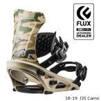 ショッピングスノー 特典あり フラックス ビンディング 金具 18-19 FLUX DS Camo 日本正規品