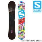 特典あり サロモン スノーボード 板 18-19 SALOMON OFFICIAL 148 オフィシャル 日本正規品 予約