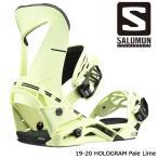 特典あり サロモン ビンディング 金具 19-20 SALOMON HOLOGRAM Pale Lime ホログラム 日本正規品