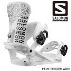 サロモン ビンディング 金具 19-20 SALOMON TRIGGER White トリガー 日本正規品