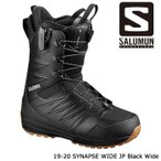 サロモン ブーツ 19-20 SALOMON SYNAPSE WIDE JP Black Wide シナプス ワイド 日本正規品