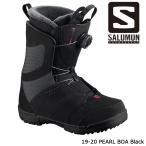 特典あり サロモン ブーツ 19-20 SALOMON PEARL BOA Black パール ボア 日本正規品
