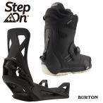 バートン ステップオンセット 20-21 BURTON STEP ON Black - PHOTON STEP ON WIDE FIT Black ビンディング 金具 ブーツ 日本正規品
