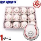ショッピング高校野球 ミズノ/野球/硬式ボール/1ダース/練習球/硬式野球/ボール/中学硬式/高校野球/1bjbh43500-d