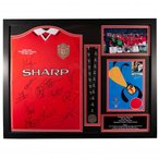 Manchester United F.C. 1999 Champions League Final Signed Shirt (Framed) /