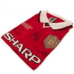 Manchester United F.C. 1999 Champions League Final Signed Shirt / マンチェスター・ユ